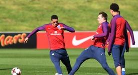 El choque es de vital importancia para Inglaterra. AFP