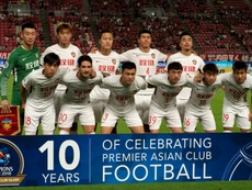 Tianjin Tianhai have basically folded due to financial difficulties. AFP