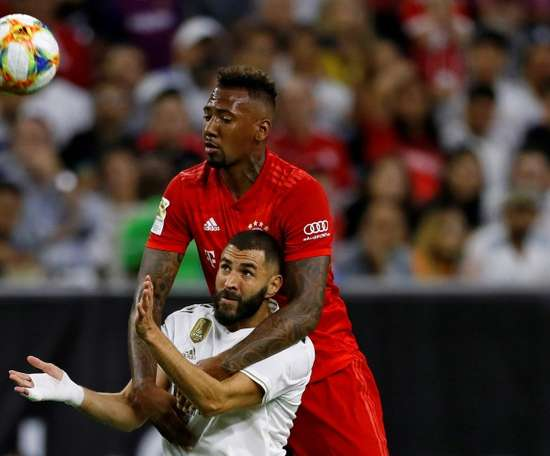 Boateng sanctionné par le Bayern après son accident. AFP