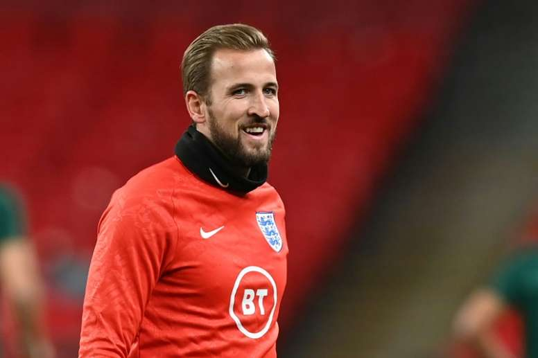 England striker Harry Kane. AFP