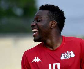 Burkina Fasos Alain Traore scored with one minute left to give his side a 1-0 win over Ghama. AFP