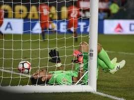 Penedo abandonará la seleccion después del Mundial. AFP
