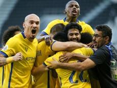 Al Nassr have made the AFC Champions League semi-finals. AFP