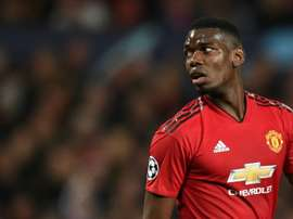 Pogba says Man Utd can hurt Barcelona in the Camp Nou. AFP