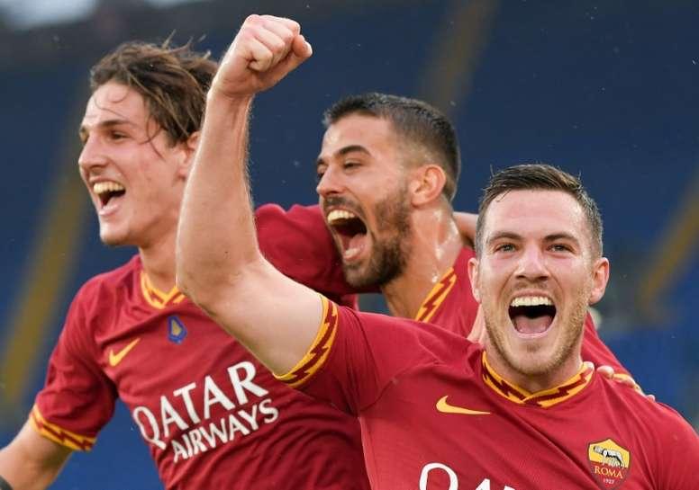 Roma won 2-1. AFP