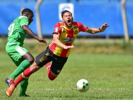 Gor Mahia played out to a goalless draw against Esperance in their first leg. AFP