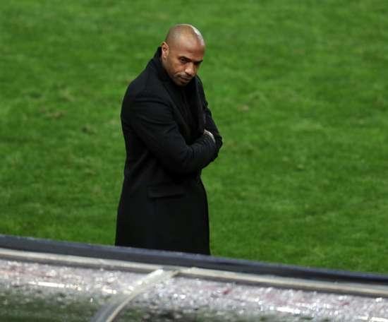 Henry no endereza a 'su' Mónaco. AFP