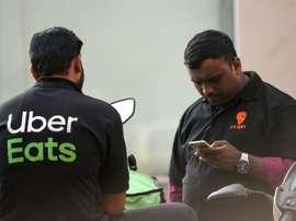 Uber Eats will sponsor Ligue 1 next season. AFP