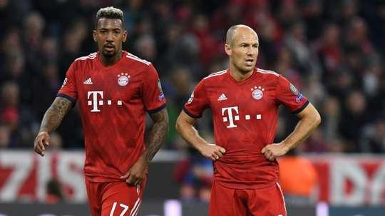 Key names missing for Bayern. AFP
