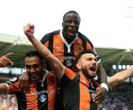 El Hull city ha logrado su primera victoria desde agosto. AFP/Archivo