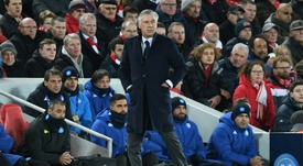 Ancelotti had said his side would be idiots not to reach the Champions League knock-out rounds. AFP