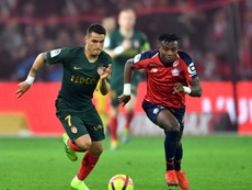 Youssof Kone playing for Lille in Ligue 1. AFP