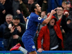 Chelsea crush Everton to cement top four place. AFP