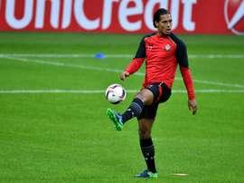 Virgil van Dijk has returned to first team training at Southampton. AFP