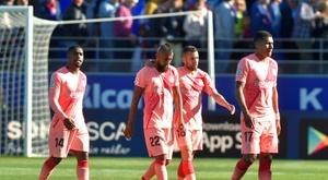 Le Barça a fait match nul, mais se rapproche du titre. AFP