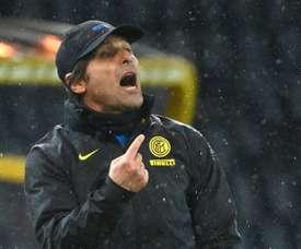 Antonio Conte suspendu deux matches. afp