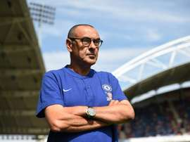 Chelsea manager Maurizio Sarri needs time to stamp his mark on his new club. AFP