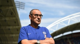 It's all change at Chelsea under Sarri. AFP