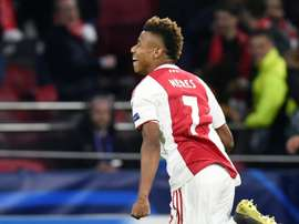 David Neres has emerged as a fantastic young player. AFP