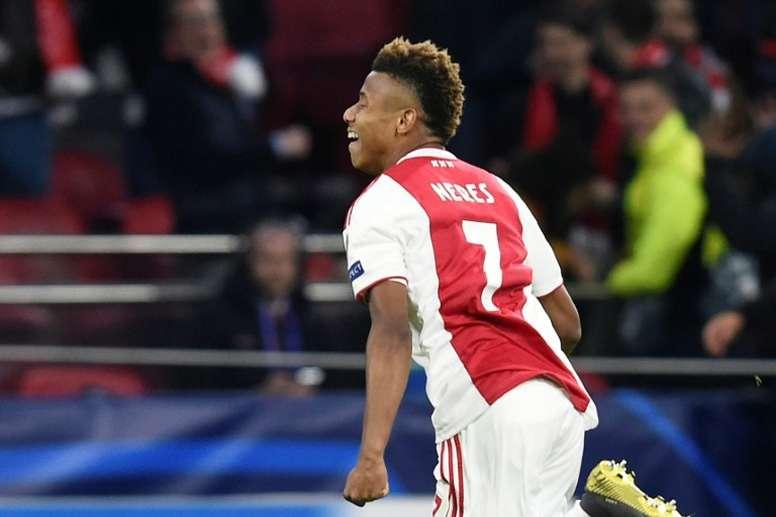 El Ajax, a semifinales 22 años después. AFP