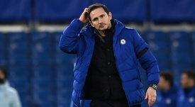 Frank Lampard could soon be sacked as Chelsea manager. AFP