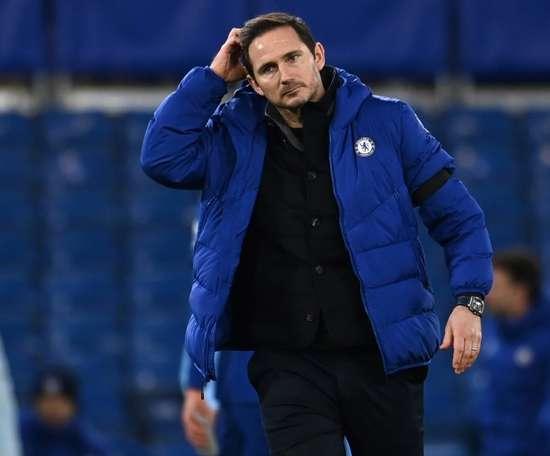 Frank Lampard limogé par Chelsea. AFP