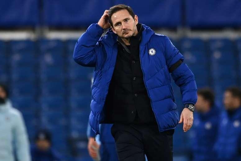 Frank Lampard habló sobre Tomori. AFP