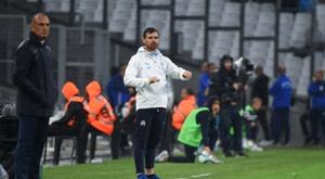 Marseille drew with Montpellier. AFP