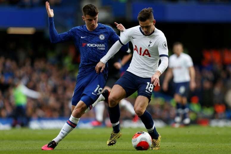 Lampard wasn't happy. AFP