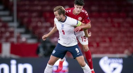 England were far from their best in the draw with Denmark. AFP