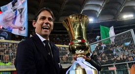 A Lazio oferece mais dois anos de contrato para Inzaghi. AFP