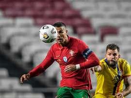 Ronaldo raggiunge Puskas in classifica. AFPl'