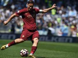 Totti não conheceu outro clube ao longo da sua carreira. AFP