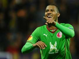 English Premier League side West Bromwich Albion said they had signed striker Salomon Rondon, pictured on September 19, 2013, for a club-record deal worth around £12 million ($19 million, 17 million euros)