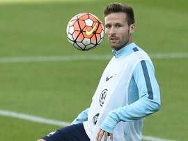 Cabaye is a transfer target for Marseille. AFP