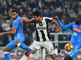 Juventus et Naples se battent pour une perle portugaise. AFP