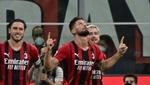 Giroud da al Milan la victoria en una primera parte arrolladora