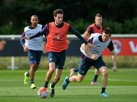 Ryan Mason was capped once by England. AFP