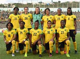 Bob Marley's daughter, Cedella, helped revive the Jamaica women's team. AFP