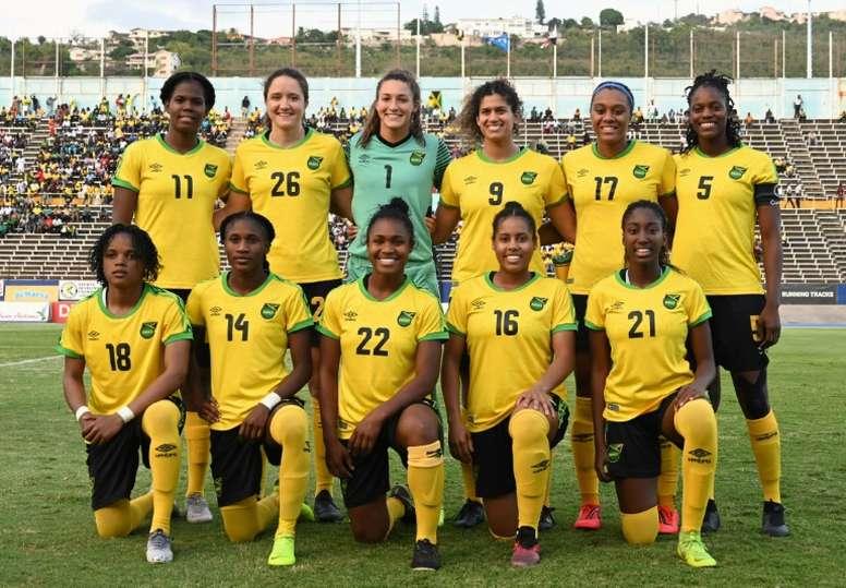 Jamaica's underdog 'Reggae Girlz' ready to take on World Cup. AFP