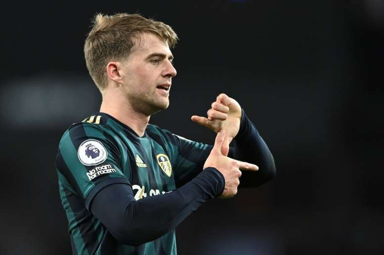 Patrick Bamford got a hat-trick as Leeds won 0-3 at Aston Villa in the Premier League. AFP