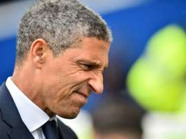 Chris Hughton has been dismissed by Brighton after four and a half years in charge. AFP