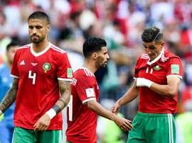 Marruecos derrotó a Tünez. EFE