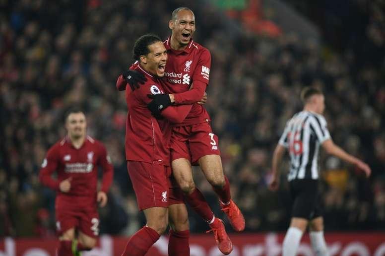 Fabinho destapó el secreto del Liverpool: el origen del gen ganador. AFP
