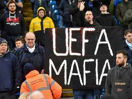 Man City take fight to UEFA on and off the field. AFP