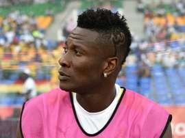 Asamoah no se mueve de la Juve. AFP