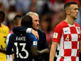 Deschamps évoque la situation de Kanté. AFPLa s