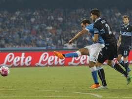 According to reports Southampton bid for Lazio defender Wesley Hoedt. AFP