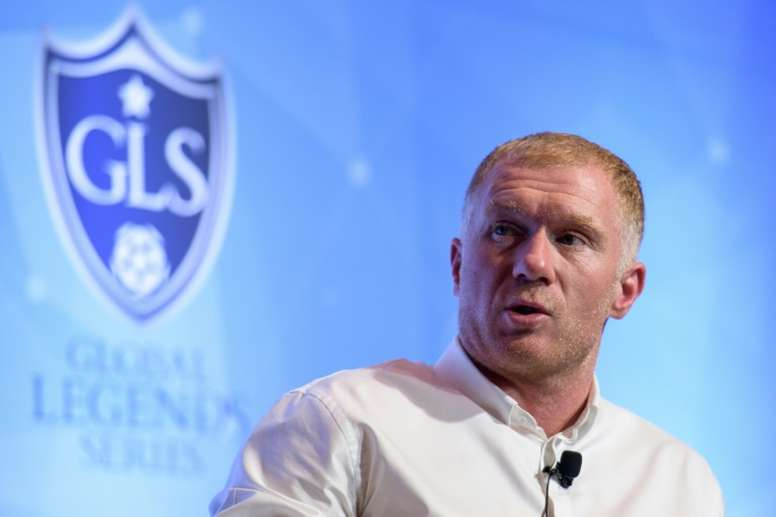 Scholes has been given the all-clear to start work at his boyhood club. AFP