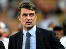 Maldini is unsure over his future at AC Milan. AFP